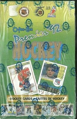 1991-92 O-Pee-Chee Premiere Factory Sealed Hockey Box