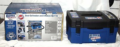 Scheppach 3 in 1 HP2P - Dust Collector - Vacuum Cleaner - Inflator - Like New