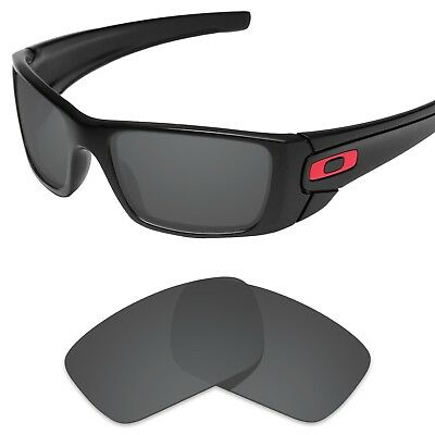 Tintart Polarized Replacement Lenses for-Oakley Fuel Cell Carbon Black (STD)