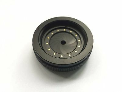 New IRIS DIAPHRAGM Aperture blade with M42 x1mm thread casing