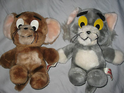 """Tom and Jerry Vintage 1982 Plush (11"""" tall)"""