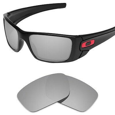 Tintart Polarized Replacement Lenses for-Oakley Fuel Cell Silver Metallic (STD)