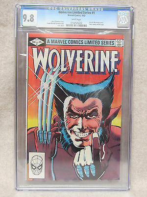 CGC 9.8 WOLVERINE #1 Comic from 1982 White Pages