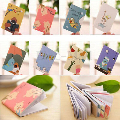 New Cheap Price Cute Cartoon Little Notebook Handy Notepad Paper Notebook 1PC