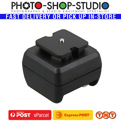 JJC Hot Shoe Adapter for Speed Light Flash with Female PC Outlet (JSC-2)