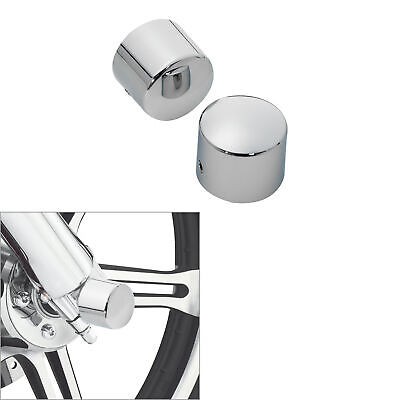 Motorcycle Front Axle Nut Cover Bolt Fit For Harley Softail Road King Glide FLTR