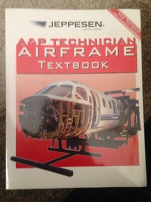 Jeppesen Boeing A&P Technical Textbook Qantas Emirates Airbus Aircraft Engineer