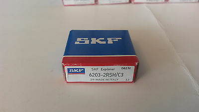 6203-2RSH/C3 SKF Ball Bearing 17x40x12 mm