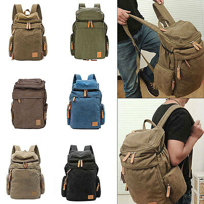 Womens Mens Large Backpack Rucksack School Bag Sport Travel Camping Bags