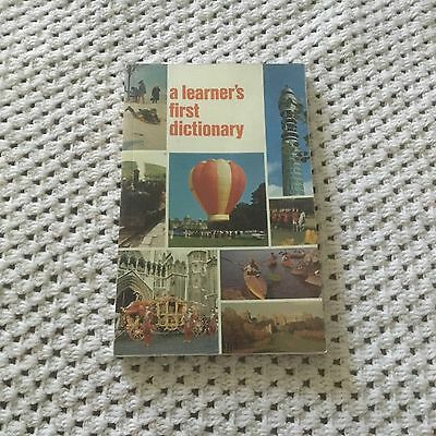 A Learner's First Dictionary By Macmillan Education- English