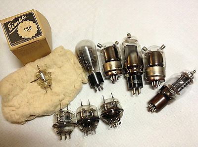 Television ?radio Valves Sold As Not Working ?good For Craft Steampunk