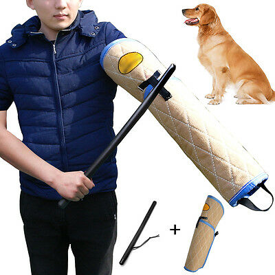 Dog Bite Sleeve and Stick Durable for Training Large Dogs Police K9 Schutzhund