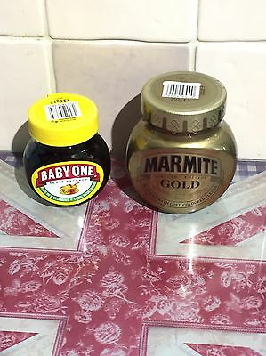 Marmite Gold And Baby One Limited Editions