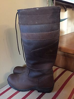 Stunning Toggi Canyon Wide Country Boots UK41/7 Worn once