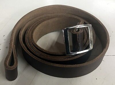Indiana Jones Leather Strap for MKVII Gas Bag with fitting instruction