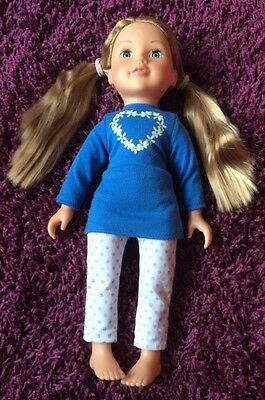 Designa Friend Collection Doll With Clothes & Accessories Excellent Condition