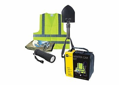 AA Winter Car Kit with Folding Snow Shovel, Emergency Torch, Foil Blanket, Vest