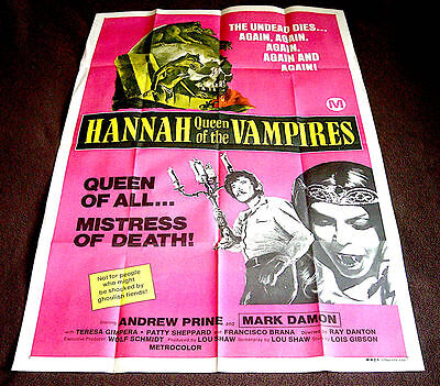 Hannah Queen Of The Vampires  - Usa  One Sheet Poster  - 27'' X 40''