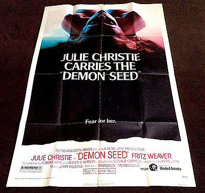 Demon Seed - Us One Sheet - Original Cinema Release Poster