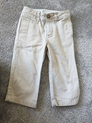baby boys gap chino Beige trousers 18-24 months