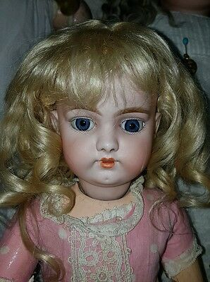 Antique Doll Wig...original Early Wig...wig Only