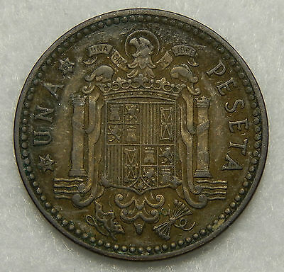1953 (62) Spain Peseta Coin KM#775  SB3659