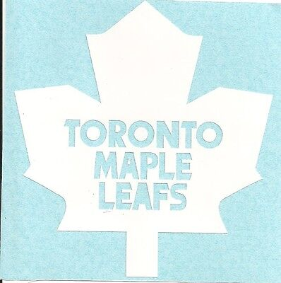 Toronto Maple Leafs vinyl decal sticker window mirror wall single color