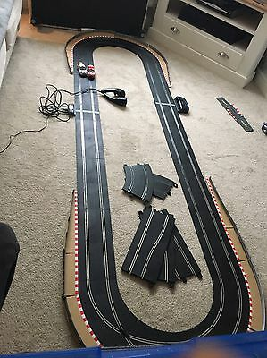 SCALEXTRIC Sport Track With Racing Curve Crossover, Ford Focus & Lap Timer