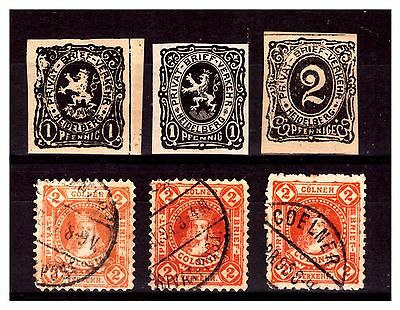 Germany Local Post Selection Stamps. Mounted/Used.  #833