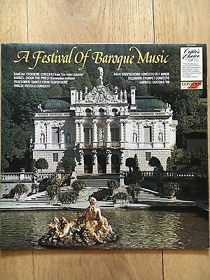A FESTIVAL OF BAROQUE MUSIC - Various - Perfect Condition LP - CC 7549 - 1982