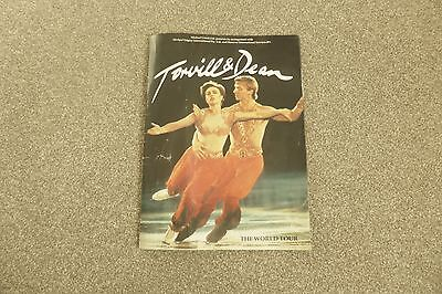 Torvill and Dean- The World Tour Programme.