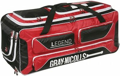 2017 Gray Nicolls Legend Stand Up Wheelie Cricket Bag - FREE P&P
