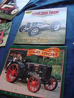 Collectible Vintage Tractor Calenders