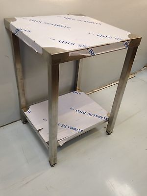 Commercial Kitchen Stainless Steel Catering Work Bench Table 2Ft600x600 BrandNew