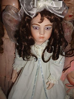 bru reproduction doll  26 bisque doll