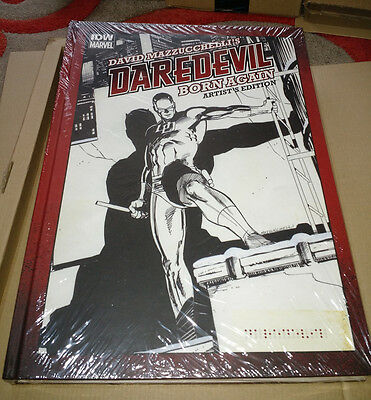 David Mazzucchelli Daredevil Born Again Artist Edition Hardcover (Rare)