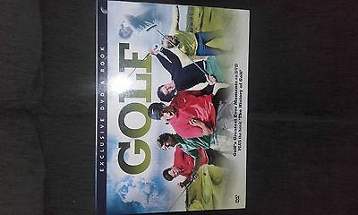 Golf DVD andBook gift set.