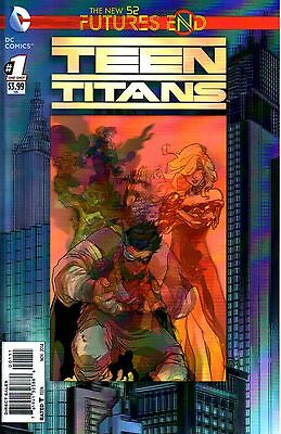 Teen Titans: Futures End Comic 1 3D Cover DC 2014