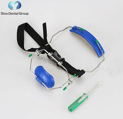 5 X Sino Dental Orthodontic Materials Face Mask Headgear Facebow Blue
