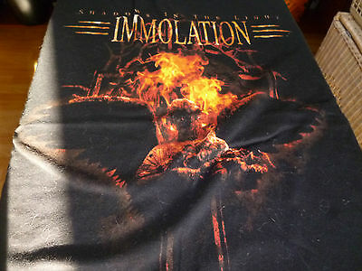 Immolation Shirt Xl Shadows In The Light Belphegor Behemoth Nile Hate Eternal