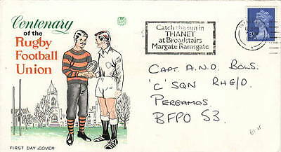 1973 Centenary of the Rugby Football Union with SHS