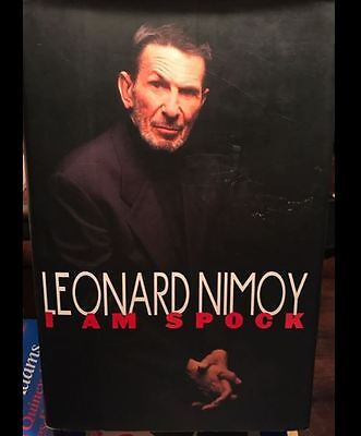 Leonard Nimoy Star Trek Original Series Book I Am Spock 1995 Signed
