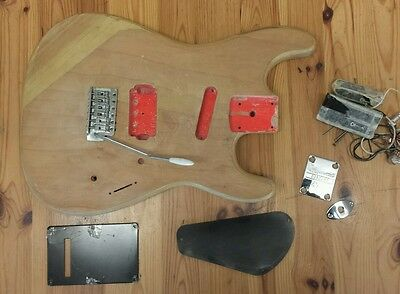 Charvel Charvette Guitar body,  pickups and parts
