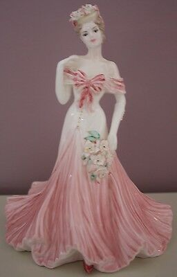 "Coalport figurine ""Fairest Lily"" the flower ladies collection in MINT CONDITION"
