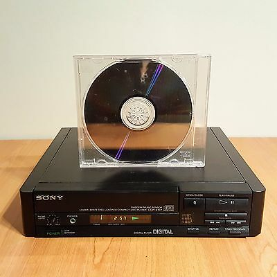 Compact Disc player Old School SONY CDP-S107