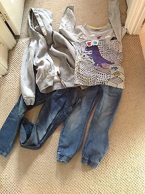 Boys Clothing Bundle, Age 5-6 From Next, Marks And Spencer .