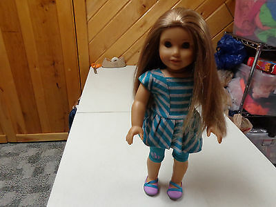 American Girl Doll Authentic  19 Inch Girl Of The Year Mckenna Doll  W Outfit