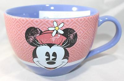 Disney Store Exclusive Minnie Mouse Cappuccino Coffee Cup Mug 20 oz