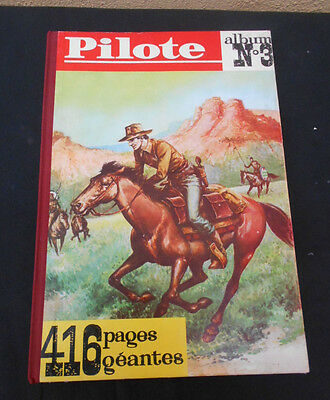 Bd Eo  Reliure Pilote N°3-Comme Neuf-1960-