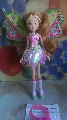 Winx Club Witty Toys Light-up Believix Flora Doll